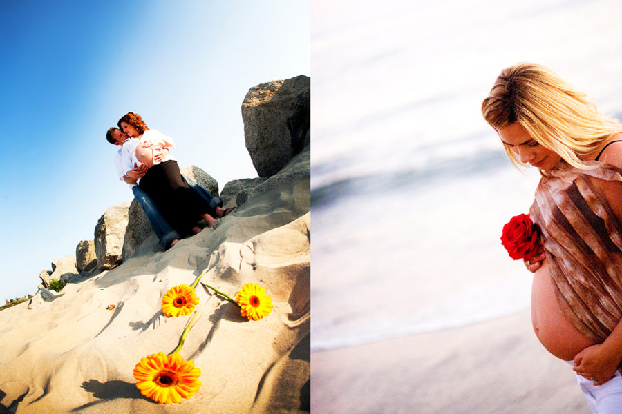 Maternity Photographer in Humboldt County California Seacoast area