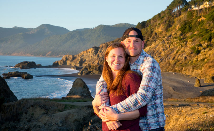 engagement photographer lost coast ca